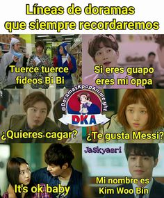Gira pues :v Kdrama Memes, Exo Memes, Funny Memes, Kim Woo Bin, 2017 Memes, Goblin Kdrama, K Meme, English Memes, Kdrama Actors