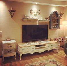 Duvar dekorasyon, Oturma Odası, Raf, Tv ünitesi