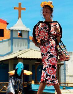 floral  dress  moda  fotografia  estampado