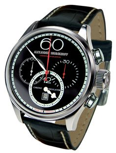 Alexander Shorokhoff Avantgard Regulator Chronograph CR01-4