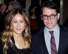 Matthew Broderick and Sarah Jessica Parker at the 28th Academy of the Arts Lifetime Achievement Awards to benefit Guild Hall of East Hampton held at the Plaza in New York City on March 4, 2013