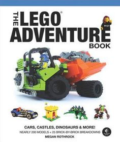 The LEGO Adventure Book - holy wow is this awesome.
