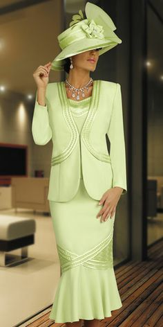 Elegant Women Church Suits   details and styles that elegantly flatters every women s body each dv ...