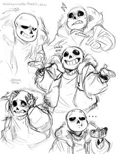 """amalkatmate: """" Trying to figure out how to draw Sans """" Undertale Love, Undertale Memes, Undertale Drawings, Undertale Fanart, Undertale Comic, Frisk, How To Draw Sans, Character Art, Character Design"""