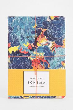 James Jean Schema Notebook - Set Of 3 #urbanoutfitters