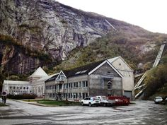 """Operation Musketoon: British Commando raid on this hydro electrical plant supplying power to an aluminium smelting plant in heathy Glomfjord, September 1942. The blew the pipes on the mountainside feeding the turbines to flood the factory as well as destroying the turbines themselves. One commando died of his wounds, 7 were captured and after being held at Colditz Castle were executed at Sachsenhausen under Hitler's new """"Commando Order"""". #ww2 #militaryhistory #commandos #norway"""