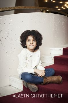 Future operagoer looking very casual chic and fashion forward.  Just adorable!!