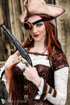 Steampunk Pirate Cosplay by The Artful Dodger