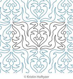 Ornate Border and Corner is a digitized quilting design by Kristin Hoftyzer. Stitch file formats available: BQM, QCC, CQP, DXF, GPF, HQF, IQP, MQR, PAT, PLT, QLI, SSD, TXT, WMF.