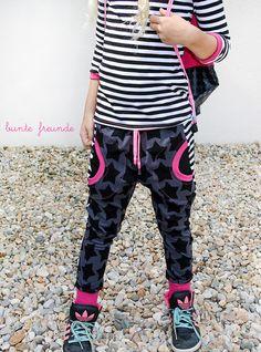 black staaars, farbenmix, nähen, donna, mariella, nähblog, genähtes, neu, jersey, streifen, jogginghose, shirt