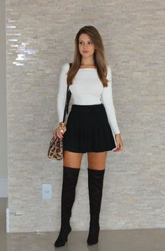 Sexy summer outfit for teen are very common in summer. You can receive a super stylish outfit wherever you go in this manner. Mode Outfits, Casual Outfits, Fashion Outfits, Womens Fashion, Fashion Trends, School Outfits, Ladies Fashion, Fashion Clothes, Fashion Bags