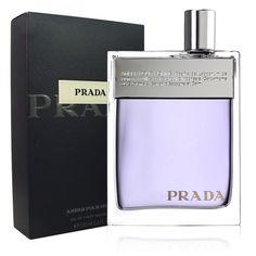 Introduced in 2006,Prada by Prada colorgne for men begins with notes of orange blossom,saffron oil,and geranium on top of mid notes of labdanum,incense,vetiver,and patchouli. Sensual base notes of amb