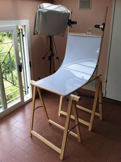 Build Your Own 'Still Life' Folding Table for around $30