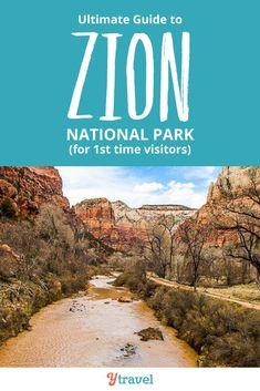Planning to visit Zion National Park in Utah? See blog post for the ultimate guide on the best things to do in Zion National Park including the best hikes, scenic drives, where to stay in Zion NP, how to get there and much more. Don't visit Utah before reading this Zion travel tips guide. #Utah #ZionNationalPark #Zion #travel #traveltips #nationalpark #nationalParks #Utahtravel #roadtrip #roadtrips #hiking #hikingtrails