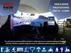 Conheça nossos simuladores !!! www.dmracer.com.br  #dmracer #simulador #simuladoresf1 #simuladores #dmracer #dmracereventos #dmtechnology #nossaagenciasuaagencia #vr #realidadevirtual #tecnologia #agenciadepublicidad #agenciamarketing #eventos #job