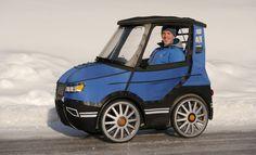 Motorpasión - El PodRide es la bici-coche eléctrica que podría popularizar el transporte en bicicleta
