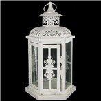 "10"" Antique White Metal Lantern | Shop Hobby Lobby"