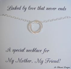 Mother of the Bride Gift Mothers Necklace by SoBlessedDesigns, $39.00