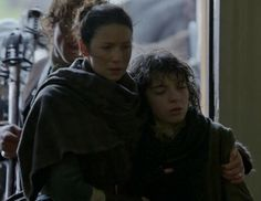 """Episode 212 """"The Hail Mary"""" of Outlander Season Two on Starz https://outlander-online.com/ with Caitriona Balfe as Claire Fraser"""