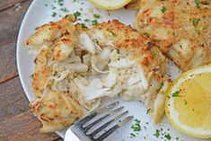Maryland Crab Cakes are made with jumbo lump crab meat with little filler, Dijon mustard and Old Bay plus secrets to making authentic Chesapeake crab cakes! Lump Crab Meat Recipes, Crab Cake Recipes, Sea Food Salad Recipes, Fish Recipes, Seafood Recipes, Cooking Recipes, Fudge Recipes, Delicious Recipes, Cooking Tips