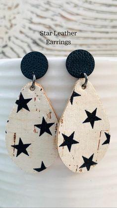 Polymer Clay Crafts, Polymer Clay Earrings, Statement Earrings, Dangle Earrings, Handmade Items, Handmade Jewelry, Trending Today, Jewelry Model, Wooden Jewelry
