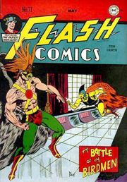 The Golden Age Hawkman, from Flash Comics # 71 (May 1946). Art by Joe ...