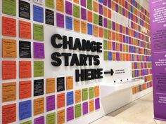 The 27 coolest office walls Interactive Exhibition, Interactive Walls, Exhibition Space, Interactive Design, Office Wall Design, Office Walls, Office Interior Design, Office Interiors, Environmental Graphics