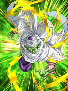 """[A True Master's Dignity] Piccolo """"I'll do it myself. You three stay out of this."""""""