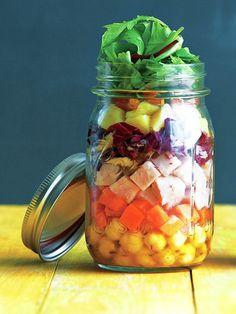 【ELLE a table】カレー&クミン風味のジャーサラダレシピ|エル・オンライン