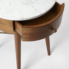 Penelope Bedside Table - Small (Acorn)