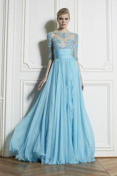 Beautiful blue gown - Zuhair Murad spring-summer 2013