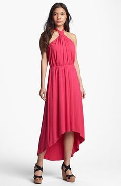 FELICITY & COCO Halter High/Low Maxi Dress (Regular & Petite) (Nordstrom Exclusive) available at #Nordstrom