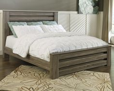Zelen King Poster Bed by Signature Design by Ashley