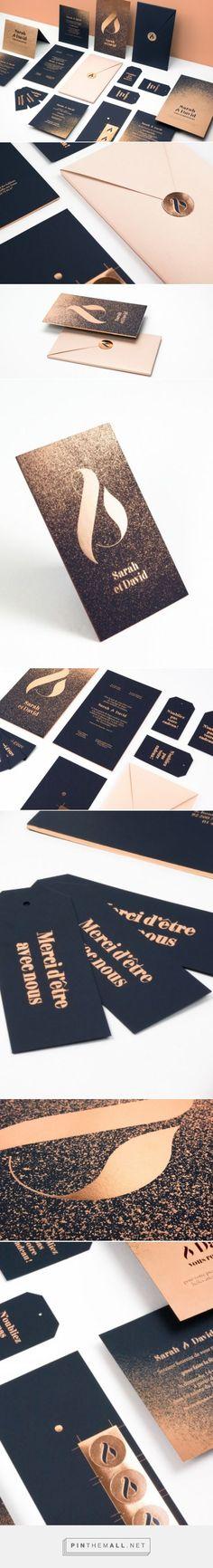 Set de faire-part de mariage, L'Imprimerie du Marais ✌ FØLSOM Studio #graphic #design #fairepart #mariage #wedding #invite #invitation #hautecouture