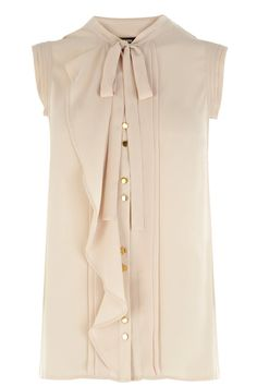 Love this Pintuck Frill Blouse from Oasis