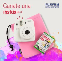 Ganate una Instax Mini 8