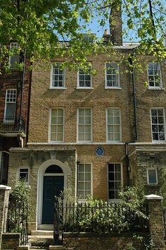 Artist John Constable's House, 40 Well Walk, Hampstead, London