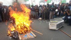 La CGTP protestó contra el Gobierno en Lima y otras ciudades del Perú [FOTOS]