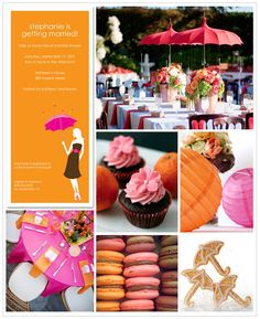 """Bridal Shower ideas -- Umbrellas for the """"Shower"""" -- precious"""