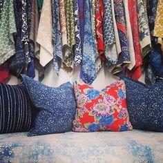 Vintage Nankeen Indigo textiles
