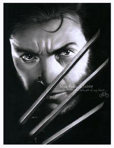 Wolverine - Hugh Jackman as Wolverine Fan Art (19372455) - Fanpop