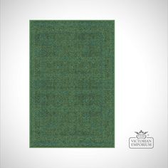 Buy Victorian Rug - style IM1951 Green Patterned, Rugs - Comes in 3 different sizes