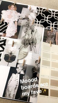 Fashion Model Sketch, Fashion Design Sketchbook, Fashion Design Portfolio, Fashion Design Drawings, Fashion Sketches, Textiles Sketchbook, Student Fashion, School Fashion, Fashion Collage