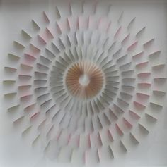 "Saatchi Art Artist: Eliza Kopec; Paper Collage ""Circle WOW2"""