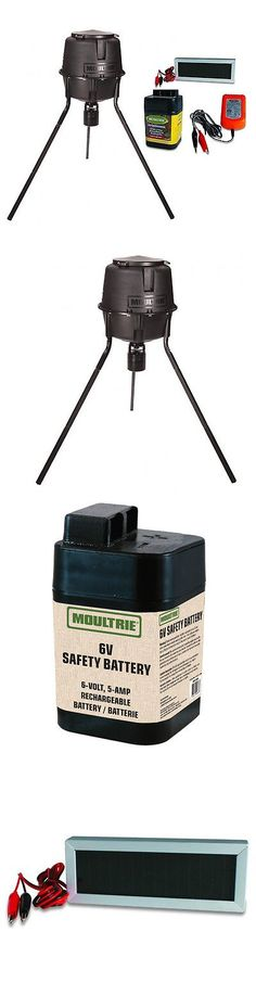 tripod and gallon feeder moultrie gizmos pro gadgets deer game hunter feeders