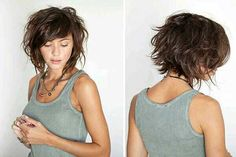 Latest Short Wavy Hairstyles You Should Try in 2016 | http://www.short-haircut.com/latest-short-wavy-hairstyles-you-should-try-in-2016.html                                                                                                                                                                                 More