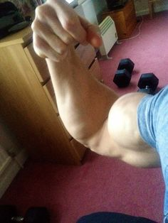 Adam Charlton. His bicep has biceps!