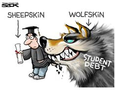 Sack cartoon: Student debt | StarTribune.com
