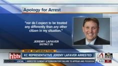 State Rep. Jeremy LaFaver (D-Kansas City) was arrested on Sunday after he was pulled over by police and found to be in possession of marijuana and drug para