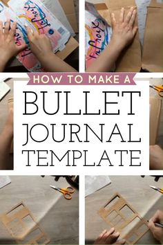 Learn this quick trick to Make a Time-Saving Bullet Journal Stencil Template